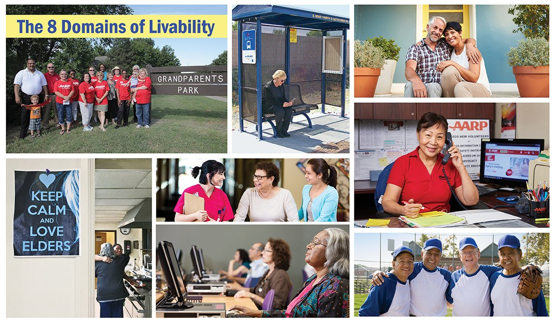 The 8 Domains of Livability